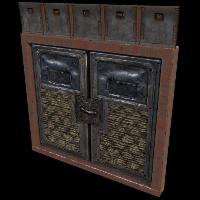 Hell Walker Double Armored Door Rust Skin