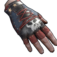 Rust Punkish Gloves Skins