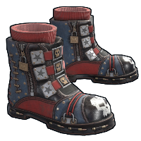 Punkish Boots Rust Skin