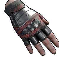 Rust Tactical Leather Gloves Skins