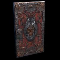 Wild Owl Door Rust Skin
