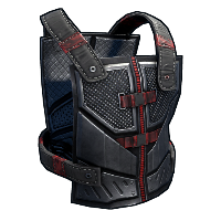 Tactical Chestplate Rust Skin