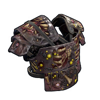 Metal Zombie Vest Rust Skin
