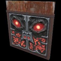 Double Door from Hell Rust Skin