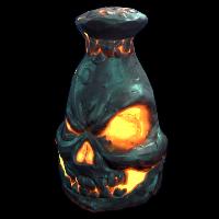 Demonic Stone Furnace Rust Skin