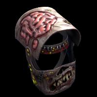Metal Zombie Helmet Rust Skin