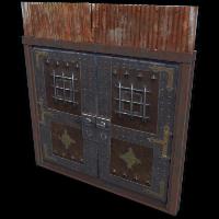 Castle Double Door
