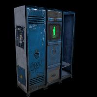 Cobalt Personal Locker Rust Skin