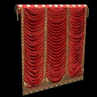 Concert Curtains Rust Skin