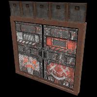 Jester Armoured Double Door Rust Skin