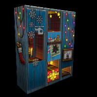 Christmas Locker Rust Skin