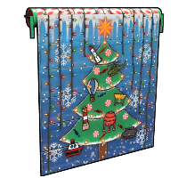 Christmas Tree Garage Door