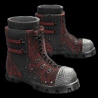 Tactical Combat Boots Rust Skin