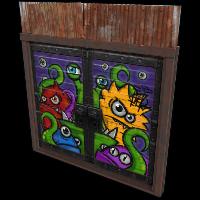 Monster Double Door Rust Skin