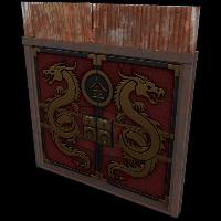 Dragon Door Rust Skin