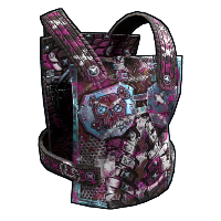Apocalyptic Knight Chest Plate Rust Skin