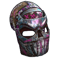 Apocalyptic Knight Facemask Rust Skin