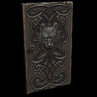 Wolf Den Wooden Door