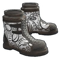 Doodle Boots Rust Skin