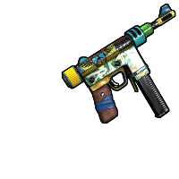 Peacemaker SMG Rust Skin