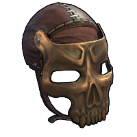 Dead Souls Facemask Rust Skin
