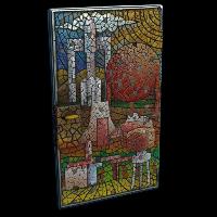Mosaic Door Rust Skin