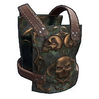 Dead Souls Chest Plate Rust Skin