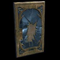 Broken Mirror Door Rust Skin
