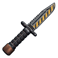 Nuke Combat Knife Rust Skin