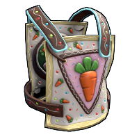 Carrot Power Chestplate Rust Skin