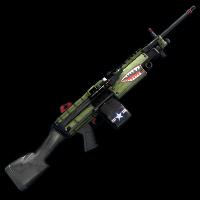 Bombshell M249 Rust Skin
