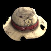 Cowboy Hat Rust Skin