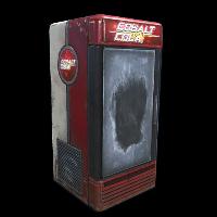 Cobalt Cola Fridge Rust Skin