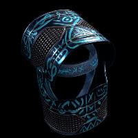 Azul Helmet Rust Skin
