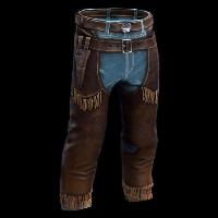 Rust Cowboy Sheriff Pants Skins