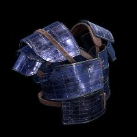 Solar Panel Vest Rust Skin