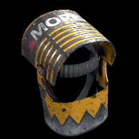 Heavy Machinery Helmet Rust Skin