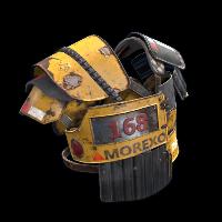 Heavy Machinery Roadsign Vest Rust Skin