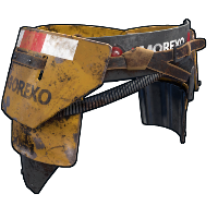 Heavy Machinery Roadsign Pants Rust Skin