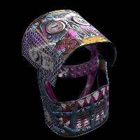 Apocalyptic Knight Helmet Rust Skin