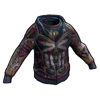 Apocalyptic Knight Hoodie Rust Skin