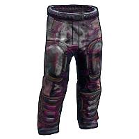 Apocalyptic Knight Pants Rust Skin