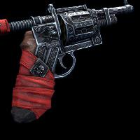 Pure Evil Revolver Rust Skin