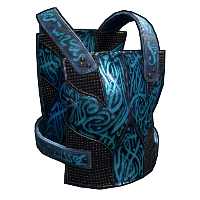 Azul Metal Chest Plate Rust Skin