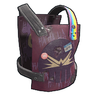 Troll Daddy Chest Plate Rust Skin