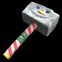 Snowman Hammer Rust Skin