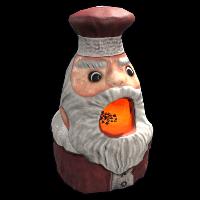 Santa Furnace Rust Skin