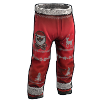 Christmas Gang Pants Rust Skin