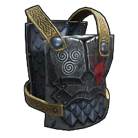 Berserk Chest Plate Rust Skin