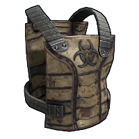 Huntsman Chest Plate Rust Skin